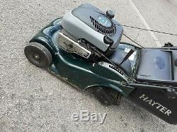 Hayter Harrier 41 Self Propelled Auto Drive Petrol Lawn Mower, electric start