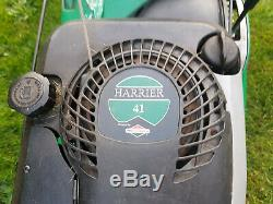 Hayter Harrier 41 self-propelled petrol lawnmower with rear roller