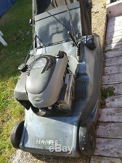 Hayter Harrier 48 19 BBC Rear Roller Self-Propelled Lawnmower quantum xts 50