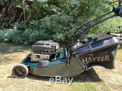 Hayter Harrier 48 Self Propelled Petrol Lawn Mower with Steel Roller