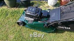 Hayter Harrier 48 Self propelled Electric Start 19 Petrol Lawnmower