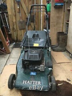 Hayter Harrier 56 22 Self Propelled Petrol Lawn Mower + Rear Roller