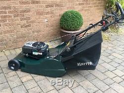 Hayter Harrier 56 Petrol Mower Self Propelled Brand New Grass Bag Serviced