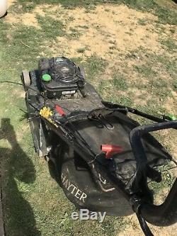 Hayter Harrier 56 Petrol self propelled lawn mower 2016 model