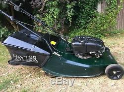 Hayter Harrier 56 Self Propelled Petrol Lawn Mower with Steel Roller