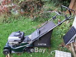 Hayter Motif 48 Self Propelled Lawn Mower! Grab A Bargain! Petrol Mower L@@k Now