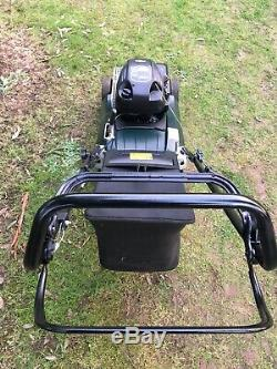 Hayter Spirit 41 Self Propelled Petrol Lawn Mower with Roller