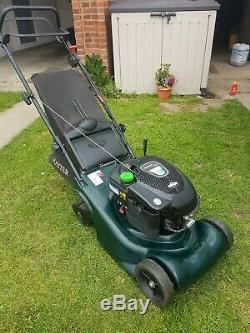 Hayter harrier 41 self propelled petrol lawnmower lawn mower 2015