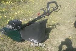 Hayter harrier 48 rear metal roller electric key self propelled petrol mower