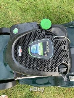 Hayter harrier 48 rear metal roller self propelled petrol mower