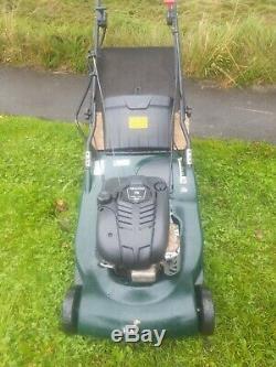 Hayter harrier 56 self propelled rear roller petrol lawnmower