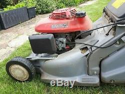 Honda HRB 476c professional self propelled petrol mower very good condition