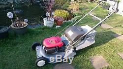 Honda HRD 535 QXE Steel Rear Roller Roto-Stop Self Propelled 21 Lawnmower