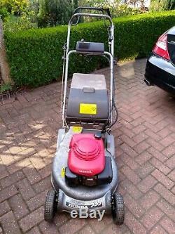 Honda HRD 535 Roller Self Propelled Lawnmower (Electric start)
