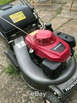 Honda HRD 536 Self Propelled Mower Great mower, needs gearbox service