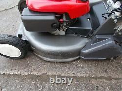 Honda HRD535 QXE 21 inch Rear Roller Cut Lawn Mower Power Drive
