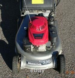 Honda HRD536 QXE 21 Cut Rear Roller Self Propelled Lawnmower