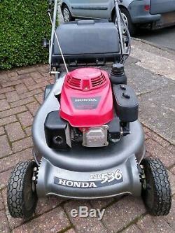 Honda HRD536 Self Propelled lawnmower