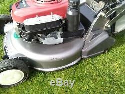 Honda HRD536 Self propelled petrol mower