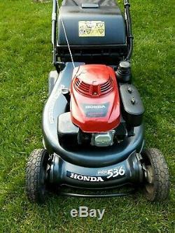 Honda HRH536 Pro Roller, 21 Self Propelled Roller Lawnmower. Fully Serviced
