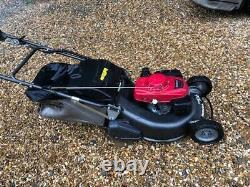 Honda HRH536 QXE 21 inch PRO Rear Roller Cut Lawn Mower Power Drive