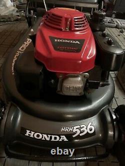 Honda HRH536 QXE 21 inch PRO Rear Roller Cut Lawn Mower Power Drive 2016