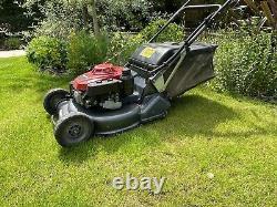 Honda HRH536 QXE 21 inch PRO Rear Roller Cut Lawn Mower Power Drive 2017