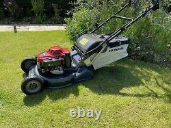 Honda HRH536 QXE 21 inch PRO Rear Roller Cut Lawn Mower Power Drive 2019