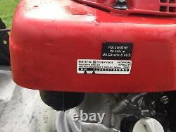 Honda HRS536 Mulch mower. 21 Inch cut