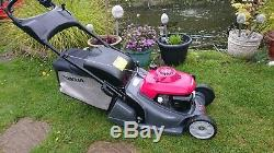 Honda HRX 426 CQXE Self Propelled 17 Roto-stop Steel Rear Roller Lawnmower