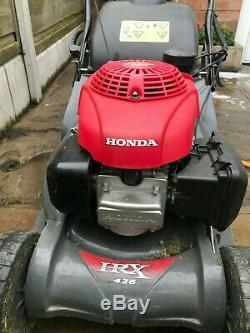 Honda HRX 426 QX Self-Propelled Excellent Condition Service Included
