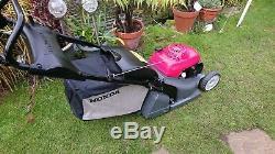 Honda HRX 426C QXE 17 Self propelled Roto-stop Steel rear roller lawnmower