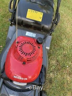 Honda HRX476CQXE 19 Self Propelled Rear Roller Petrol Lawnmower