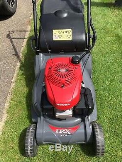 Honda HRX476QX 19 Self Propelled Rear Roller Petrol Lawnmower