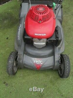 Honda HRX537 HXEA Self Propelled Hydrostatic Petrol lawnmower 21 CUT Mower 2008