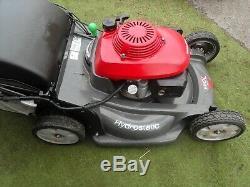 Honda HRX537 HZEA Self Propelled Hydrostatic Petrol lawnmower 21 CUT Mower 2012