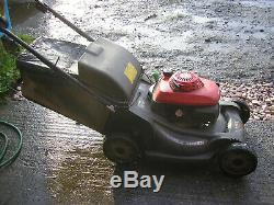 Honda HRX537 variable speed self propelled 21in lawnmower