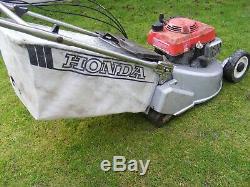 Honda Hr 194 Self Propelled Petrol Lawn Mower With Rear Roller