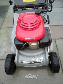 Honda Hrb 475 Self Propelled Petrol Lawn Mower, Hrx/hrb 21 Blade Rotastop
