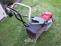 Honda Hrb425 Rear Roller Self Propelled 16 Rotary Petrol Lawnmower Grass Bag