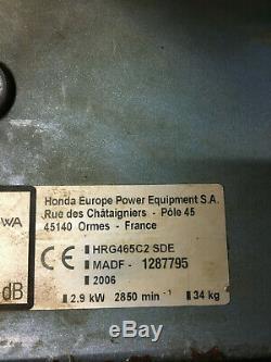 Honda Hrg 465sde C2. 18 Self Propelled Izy Lawnmower