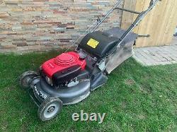 Honda Hrh 536 Pro Petrol Lawn Mower Rear Roller Self Propelled