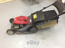 Honda Hrx 476 Cqxe Self Propelled Rear Roller Petrol Lawnmower (used)