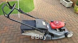 Honda Hrx476c Self Propelled Petrol Lawnmower
