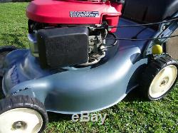 Honda Izy HRG465 SDE 18 inch self-propelled lawnmower (brand new deck)