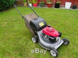 Honda Izy HRG536C6SDEA self-propelled 21 inch cut lawnmower (serviced 06/07/20)