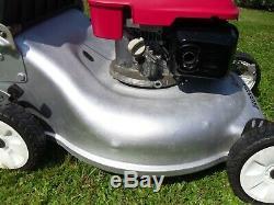 Honda Izy HRG536SDE6 21 inch self-propelled lawnmower (serviced 30/07/20)