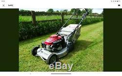 Honda Lawnmower, Honda Mower, Self Propelled With Rear Roller, 2016 Machine
