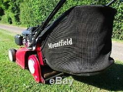 Honda Mower, Honda Lawnmower, Honda Mountfield Self Propelled With Rear Roller