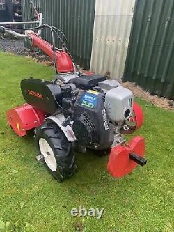 Honda Petrol Rotavator 3 Speed Self Propelled Tiller Cultivator 2 Wheel Tractor